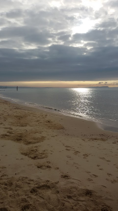 Bournemouth Beach 8am today.( 31st August)